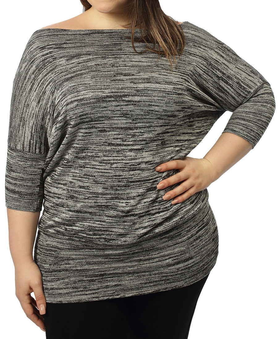 Slouch Top - Grey