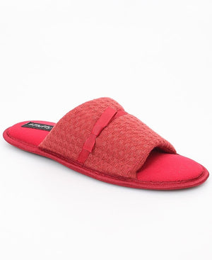 Bedroom Slippers - Burgundy