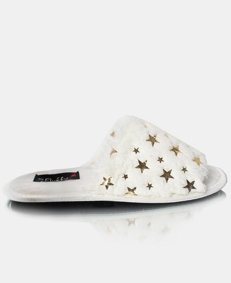 Bedroom Slippers - White