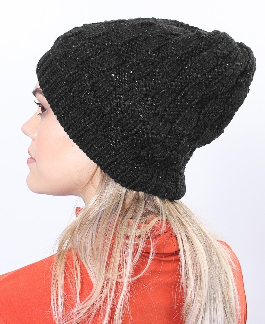 Sequence Beanie - Black