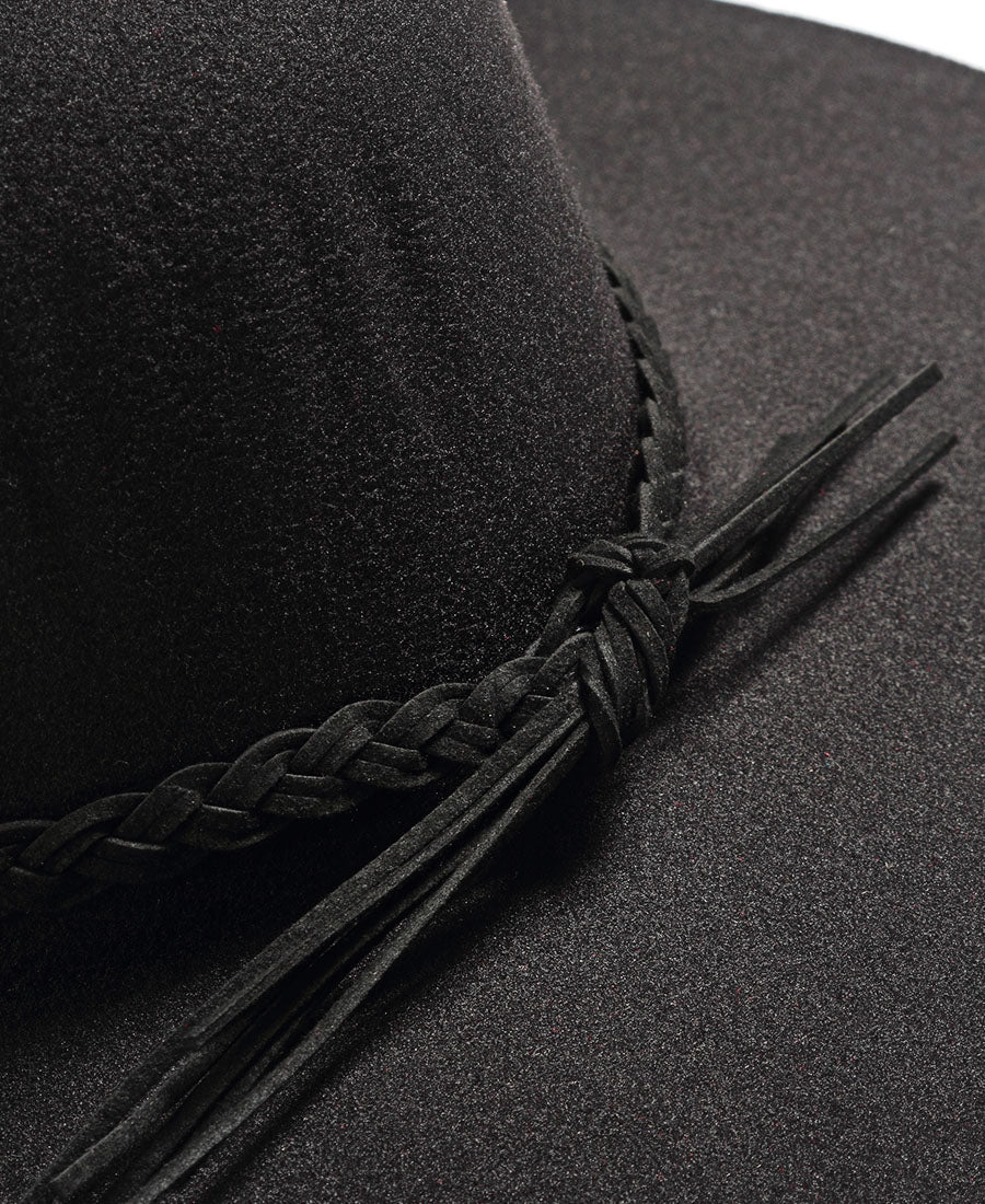 Widebrim Hat - Black