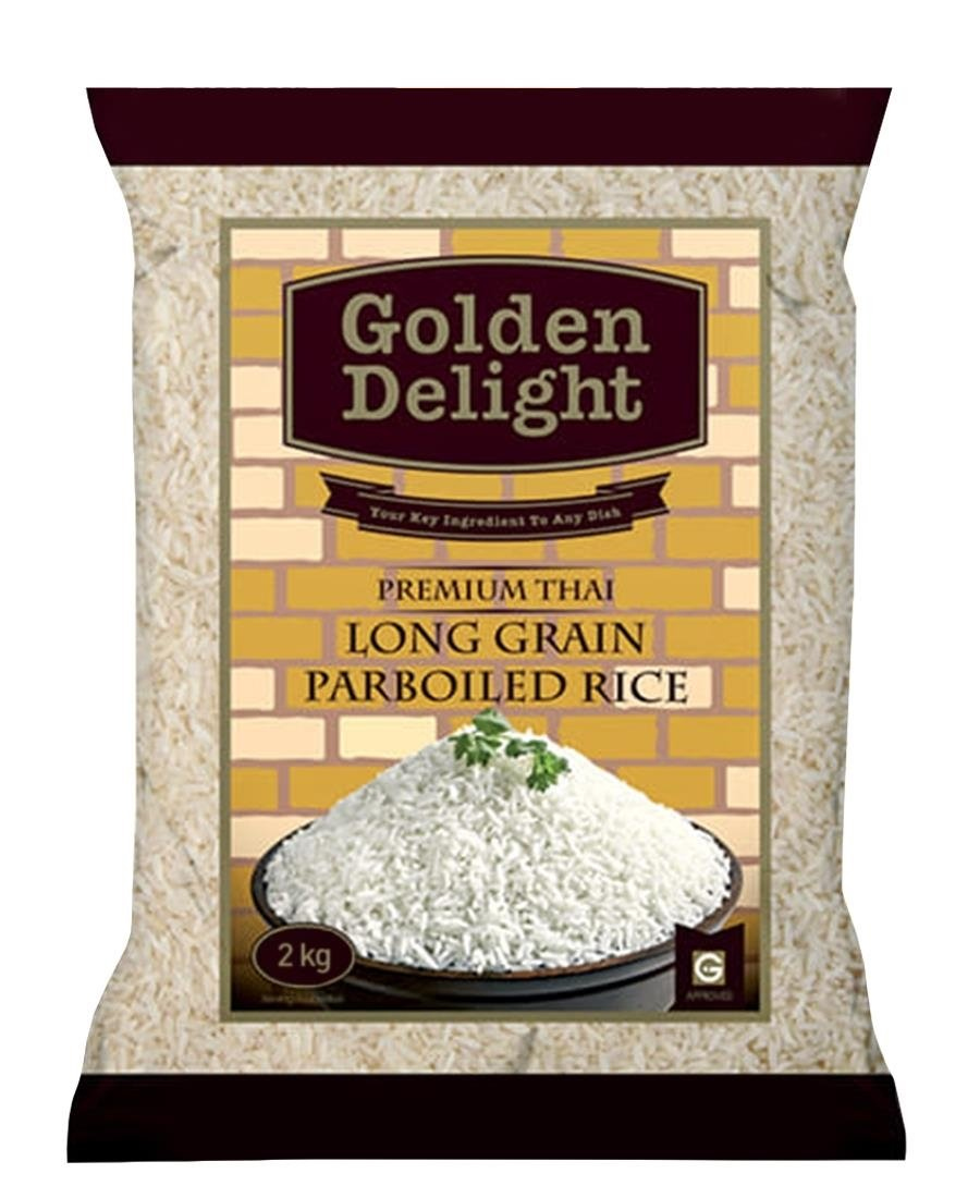 Golden Delight Rice 2Kg - White