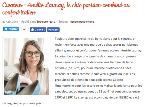 Startup Story - Amélie Launay