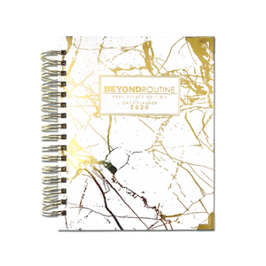 2020 Beyond Routine Daily Real Estate Planner | Signature Gold