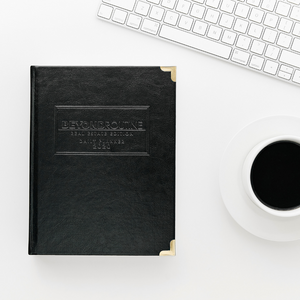 2020 Beyond Routine Daily Real Estate Planner | Black Faux Leather