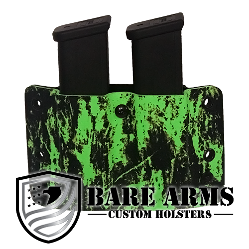 Double Mag Carrier - Distressed Green