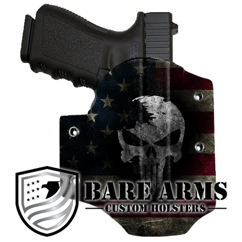 Custom Outside The Waistband Holsters | Bare Arms Holsters