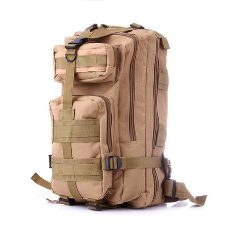 Something Tactical Military Style Backpack in Beige
