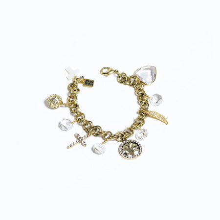 "Faith and Family / ""Tis The Season"" Charm Bracelet"