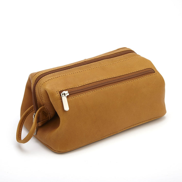 ROYCE Executive Toiletry Bag in Genuine Colombian Leather