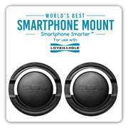 360 Smartphone Mount - 2 Pack ( For use with  LoveHandle Smartphone Grips )