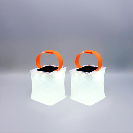 PackLite Halo Mini Solar Lantern 2-Pack