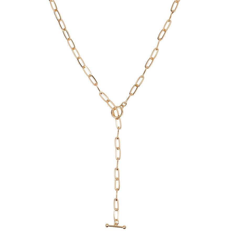 T Bar Chain Necklace