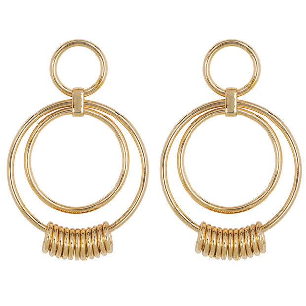 Ring It Up Statement Earrings