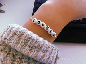 Limited edition bracelet - lovely