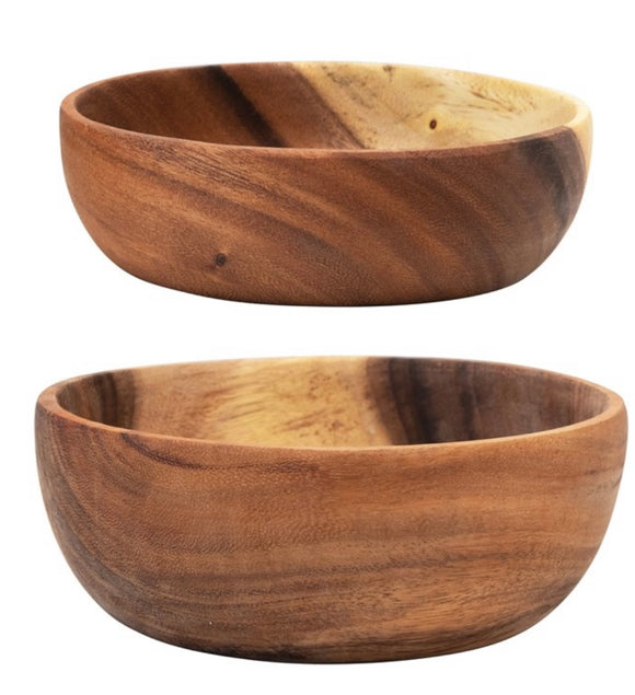 Wooden Nesting Bowls