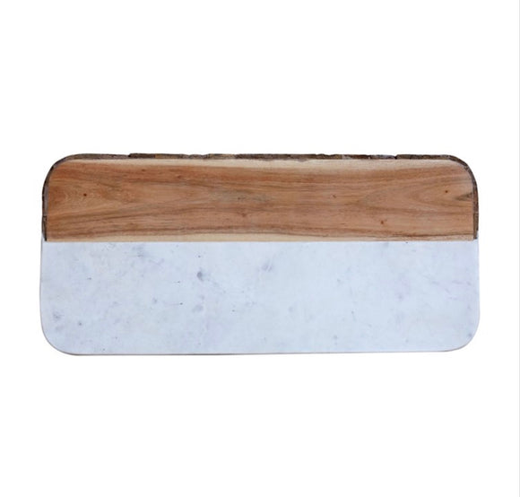 Marble & Mango Wood Cheese Board