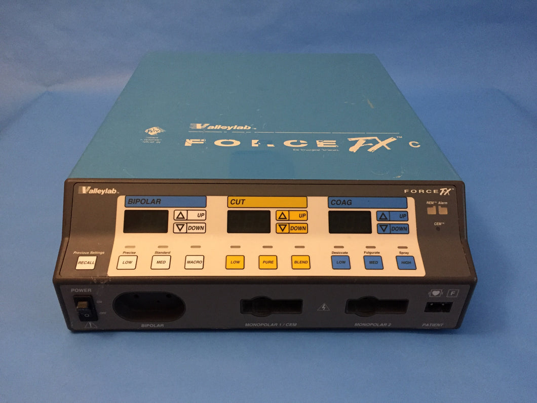 valley lab force fx c electrosurgical generator international rh internationalmedicalsupply com valleylab force fx operation manual Valleylab Force FX 371715-02