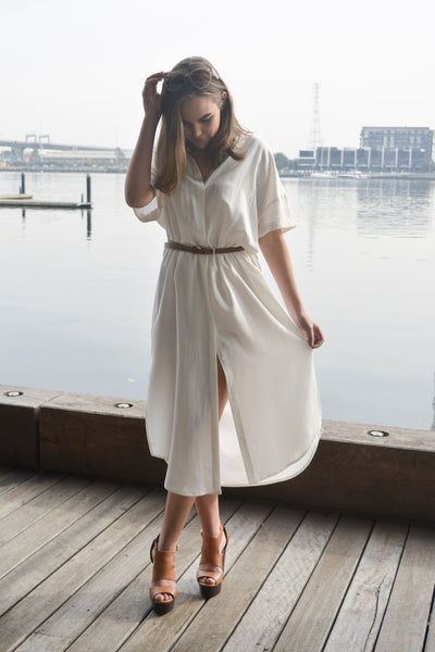 THE SLIP INTO SOMETHING COMFORTABLE SHIRT DRESS