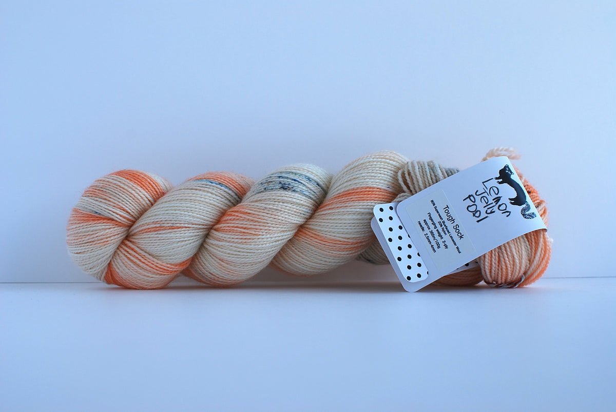 LJP Tough Sock: Snow Peach
