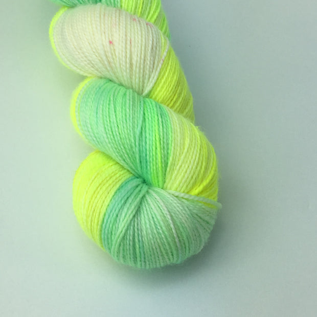 LJP Merino Sock Springy: Lemon Jelly Pool