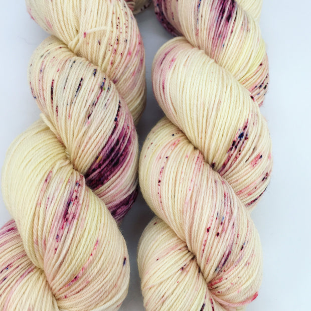 LJP Merino Sock: Rum Raisin ラムレーズン