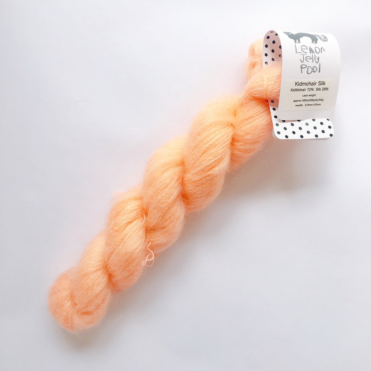 LJP Kid Mohair Silk: 桃のスープ