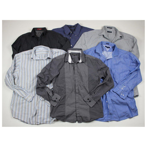 Mens Used Clothes Secondhand clothing bales of button shirts