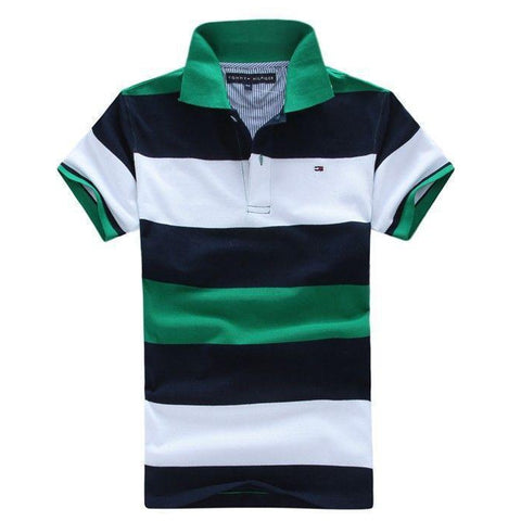 Men's polo shirts, secondhand polo shirts, short sleeve polo shirts, used clothes polos