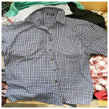 Men's Sorted A-Grade Long & Short Sleeve Button Shirts in 50kg, 75kg and 100kg Bales
