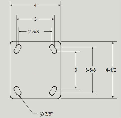 Mapp Caster 02 Top Plate Drawing