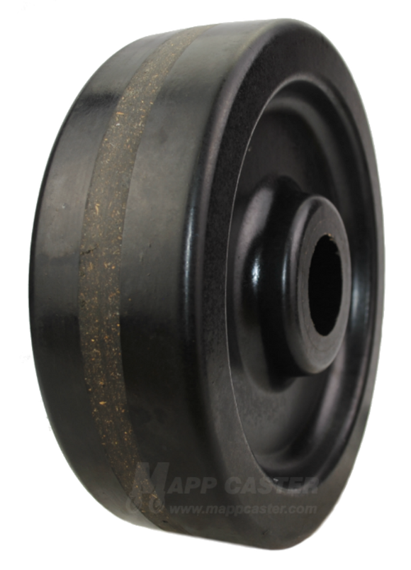 "10"" x 3"" Phenolic Wheel - Part # QPHN10R0"
