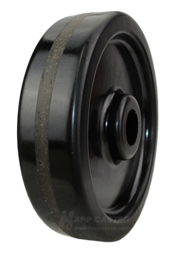 "12"" x 3"" Phenolic Wheel - Part # QPHN10R0"