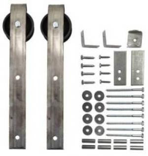 Sliding Barn Door Hardware Kit Loop Hanger With 14 Foot Track