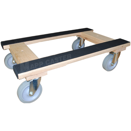 Furniture Dolly With 5 Tpr Rubber Casters 1 000 Lbs Capacity