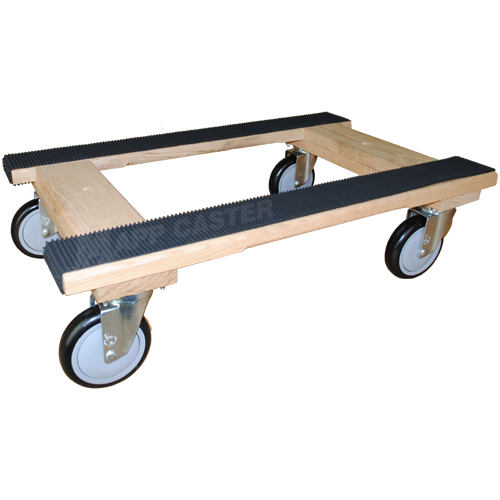 18 X 30 H Dolly With 5 Polyurethane Wheel Casters 1 000 Lbs Capacity