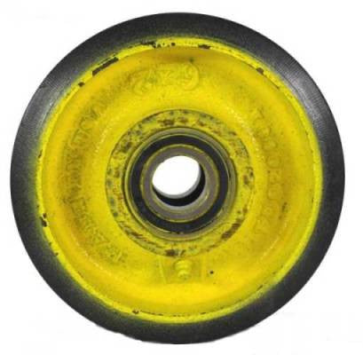 "6"" x 2"" Polyurethane on Iron Concrete Saw Wheel with 1"" I.D. Sealed Ball Bearings"