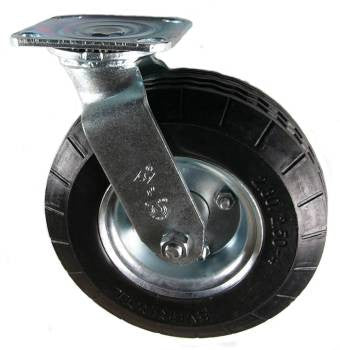 "8"" Ever-Roll (Flat Free) Swivel Caster - 250 Lbs Capacity"