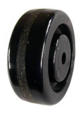 "4"" x 1-1/2"" Phenolic Wheel with 1/2"" Plain Bore - 600 Lbs Capacity"