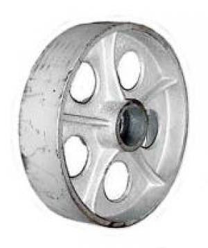 "10 x 2-1/2"" Cast Iron Wheel - 2,000 Lbs Capacity"
