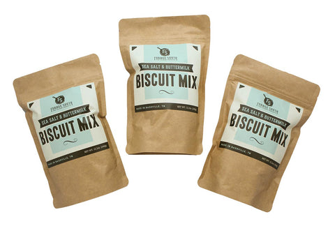 Sea Salt & Buttermilk Biscuit Mix - 3 Pack
