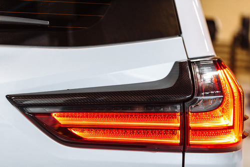 2015+ Lexus LX570 Carbon Fiber Taillight Accents