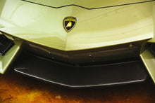 2011+ Lamborghini Aventador Carbon Fiber Front Splitter Center Lip