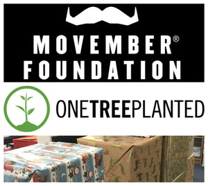 Movember, One Tree Planted & Christmas In A Box