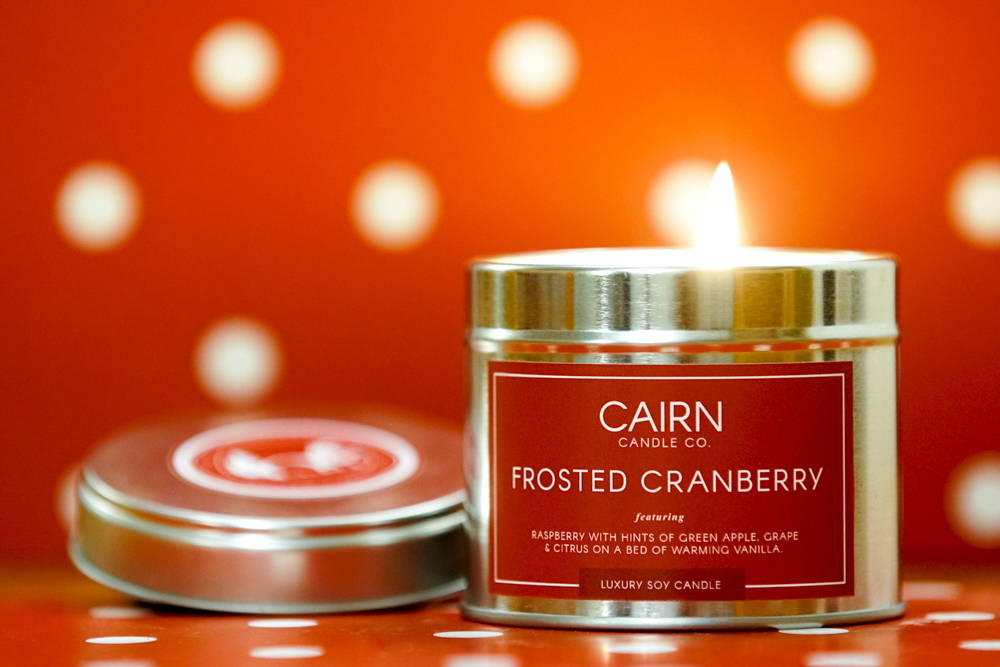 Customise Your Candle For Christmas