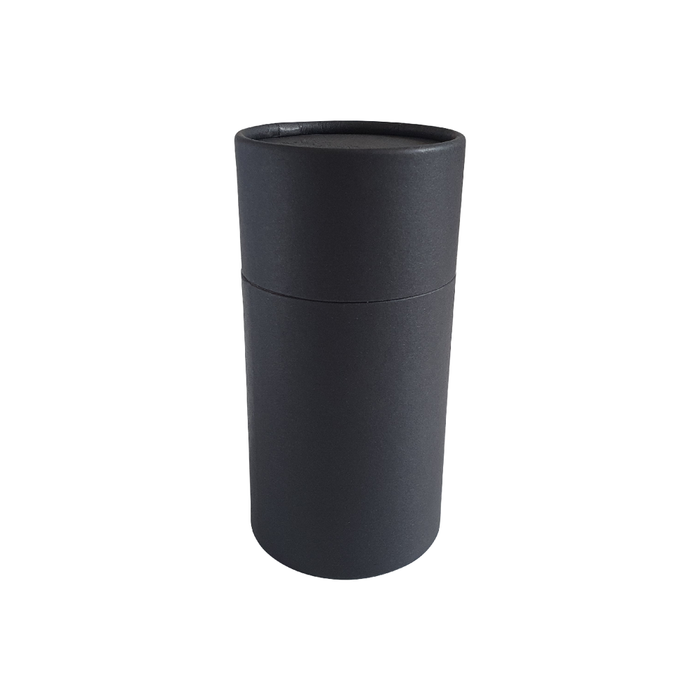 63 x 112 mm black multipurpose cardboard tube with slip lid