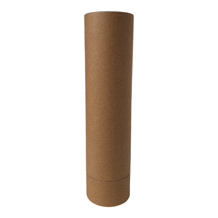 65 mm (d) x 260 mm (h) brown diffuser style cardboard tube