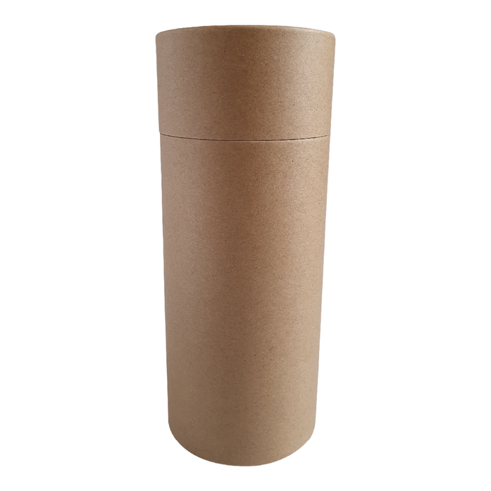 73 x 168 mm brown Kraft multipurpose cardboard tube with slip lid