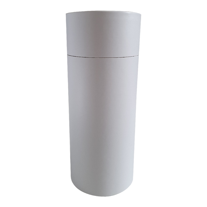 73 x 168 mm white multipurpose cardboard tube with slip lid