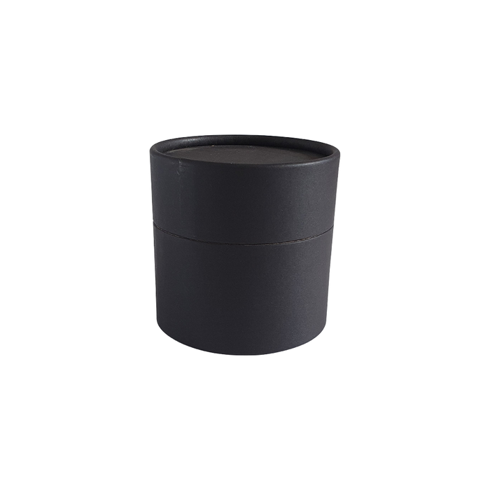73 x 56 mm black multipurpose cardboard tube with slip lid